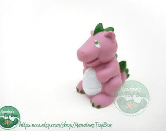 Vintage Spike the Baby Dragon from My Little Pony 1980s Toy