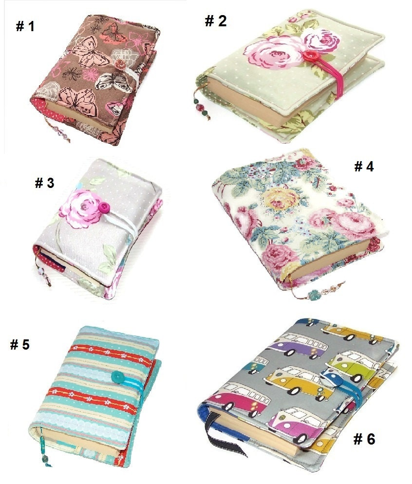 Fabric Book Covers Uk : Large bible cover choose a fabric book made to measure