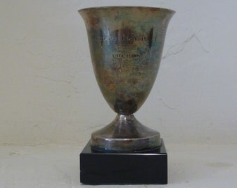 French Silverplate Golf Trophy