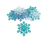 Die cut felt shapes snowflake frozen pre cut shapes style 5