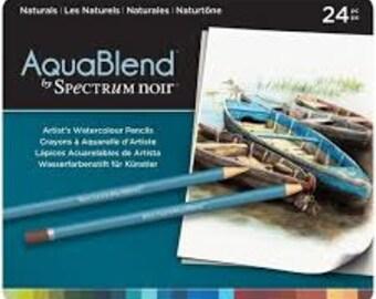 Spectrum Noir AquaBlend Watercolour Pencils - NATURALS