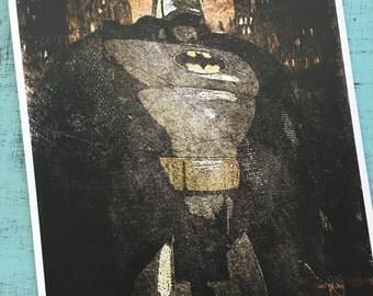 Batman Noir - Archival Pigment Print