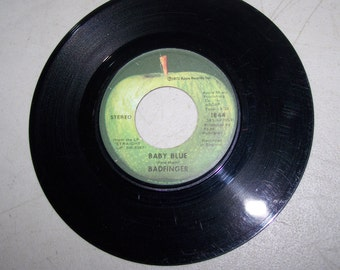 """Vintage 1970's 45 rpm record """"Baby Blue"""" By Badfinger"""