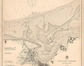 Nantucket Harbor – 1889