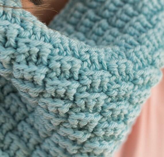 Crochet Pattern ~ Petite Basketweave Cowl ~ Crochet Pattern from KnitAndCroch...