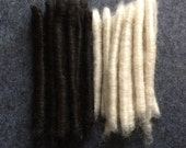 Rare swedish wool Gestrike wool for spinning and felting