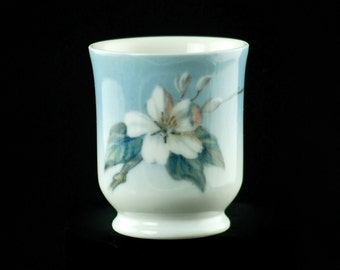 Vintage Royal Copenhagen Hand Painted Apple Blossom Cup