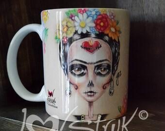 Floral Frida Mug