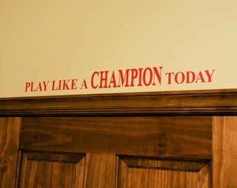 Play Like A Champion Today - University of Oklahoma
