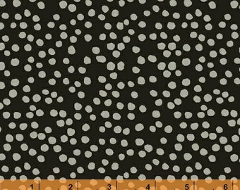Lucky - Black Dots by Lotta Jansdotter from Windham Fabrics