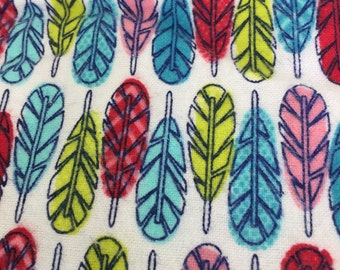 """Extra Large Flannel  Swaddle Receiving Blanket. 100% Cotton Flannel. - 40""""x40"""" Arrows"""