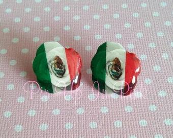 Mexican Rose Earrings