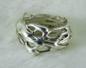 Liquid Silver Ring