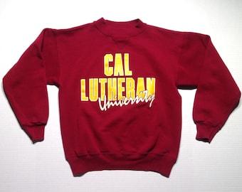 1980's Cal Lutheran University sweatshirt, medium