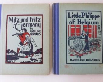 vintage children's books, Madeline Brandeis, 1930's, photographic illustrations, from Diz Has Neat Stuff