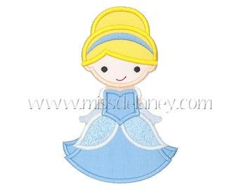 Cinderella 1 Applique Design