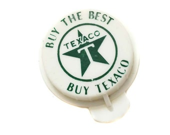 Texaco Bottle Cap Buy the Best Buy Texaco Plastic Bottle Top Lid Green & White Texaco Oil Gas Advertising Small Soda Pop Bottle Lid