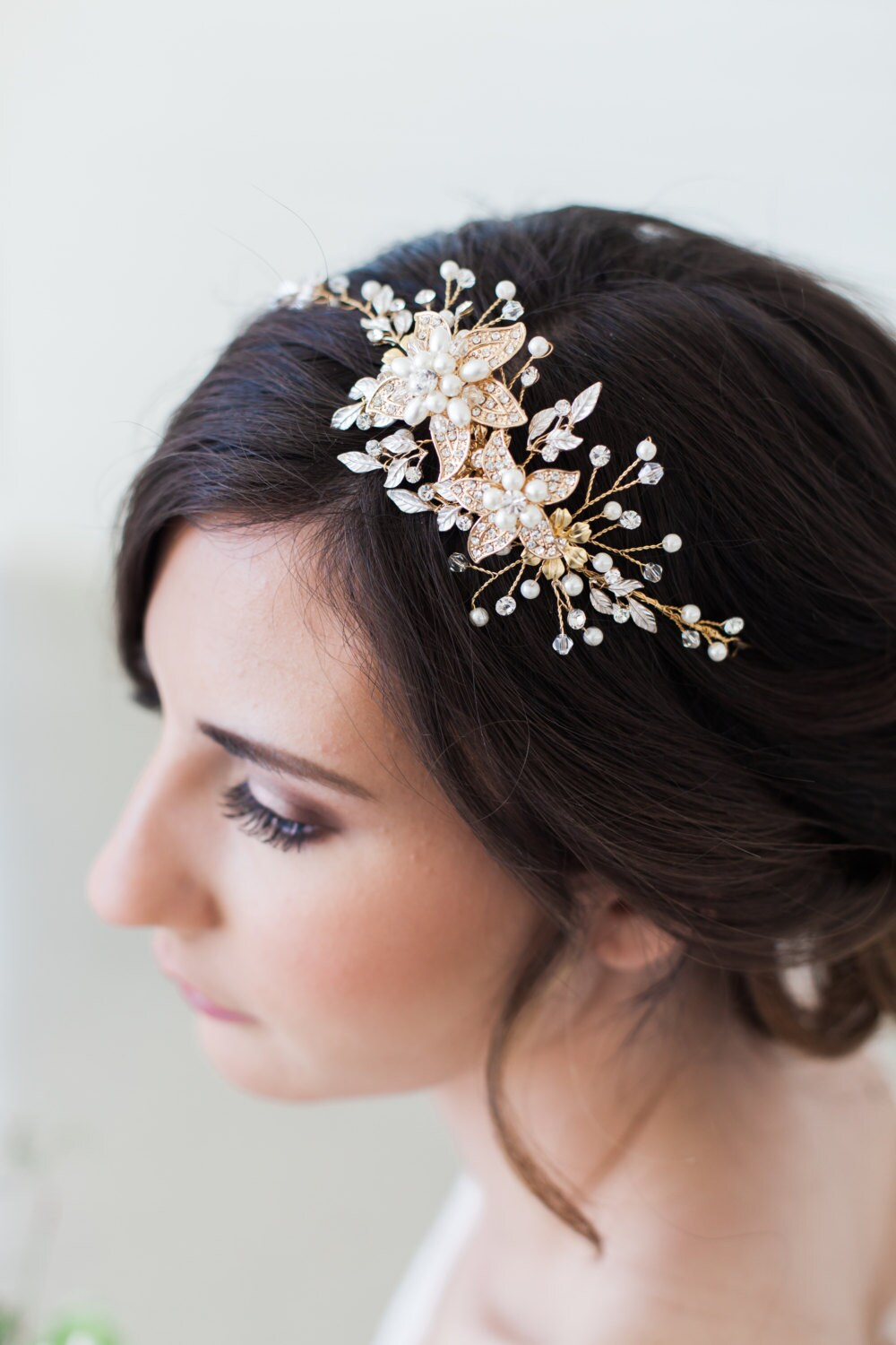 Rose gold wedding hair accessories -  Gold Wedding Hair Accessories Gallery Photo Gallery Photo Gallery Photo Gallery Photo Gallery Photo