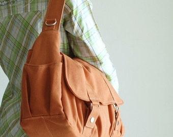 Halloween SALE - 30% Pico2 in Pumpkin (Water Resistant)  Purse / Laptop/ Shopping Bag / Shoulder Bag/ Messenger Bag/Diaper Bag/ School Bag/