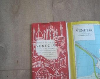 Vintage Venice/Venezia Map Late 50's