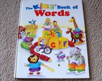 The Kids Book of Words Childrens Book - Lisa Haughom