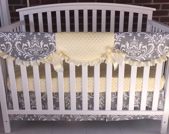 Custom crib bedding, 3PC