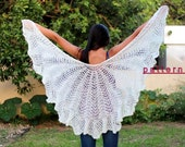 Knit Shawl Pattern Lace shawl pattern Knit shawl PDF tutorial Women's Scarf Pattern Shawl pattern Crochet scarf Handmade shawl