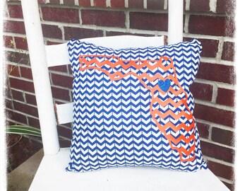 Florida Gator pillow