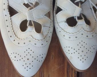 POLKA    ///    Leather Flats