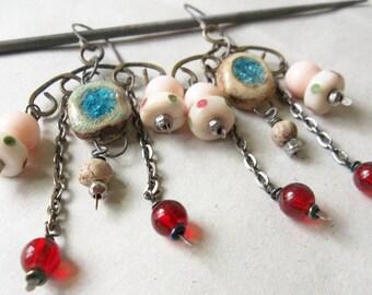 Vegas earring assemblages