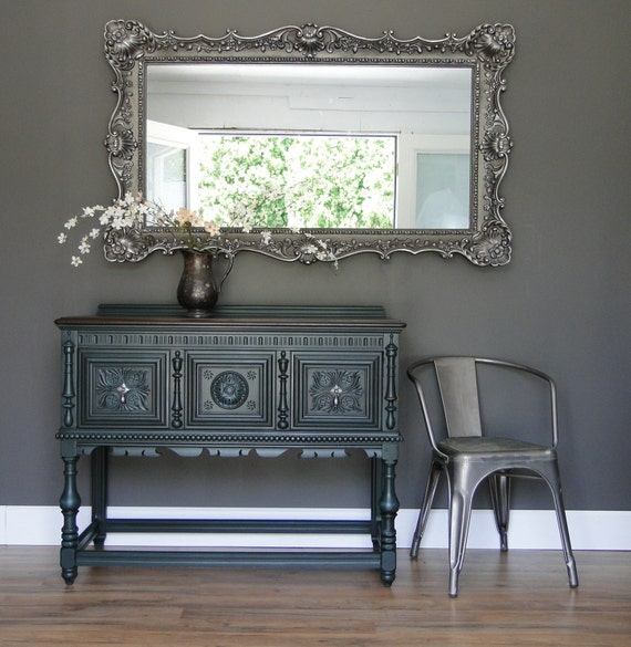 Items Similar To Sold Smaller Antique Ornate Buffet
