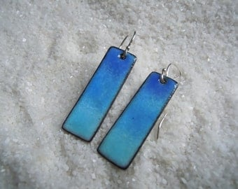 Blue Ombre Earrings