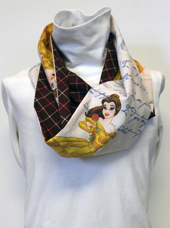 Disney Beauty and The Beast Infinity Scarf