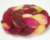 Southdown Wool Top (Roving) - Spinning / Felting Fibre - Approx. 4oz. - Cowboy Love