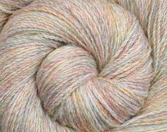 Handspun yarn - Merino wool / nylon yarn, fine sport weight - 450 yards - Whispering Angels 1