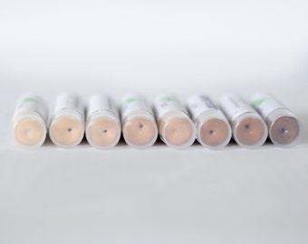 Natural Concealer Vegan Makeup Foundation Stick Under eye Corrector