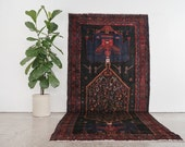 SOHRAB 5x12 Hand Knotted Persian Wool Rug