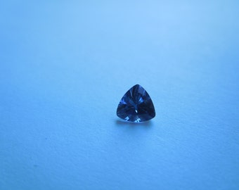Genuine Montana Sapphire Blue Trillion cut .60 carat Ethically Mined Loose Gemstone for Jewelry, Engagement, September Birthstone