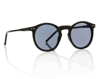 OMalley Round Black Shades X American Deadstock Eyewear