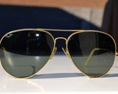 Vintage 70's Ray Ban B/L sunglasses aviator style