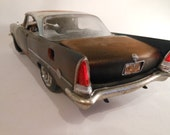 Classicwrecks Rusted Scale Model Chrysler Car in Black
