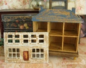 Shabby Primitive Distressed Dollhouse 1:144 Scale