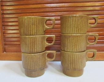 Monmouth Brown Made in USA Coffee Mugs
