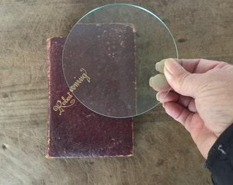 Vintage glass lenses