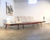 Adrian Pearsall Model 899-S Sofa FREE SHIPPING Craft Associates Atomic Gondola Couch Mid Century Modern