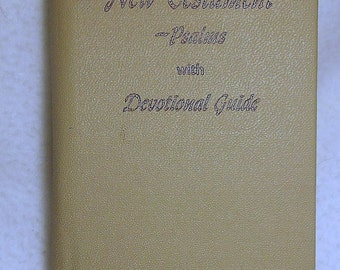 Vintage New Testament Devotional Guide 1943