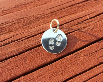 Personalized Sterling Silver Charm Add A Charm Hand Stamped Personalized 925 Sterling Silver Charm FREE SHIPPING