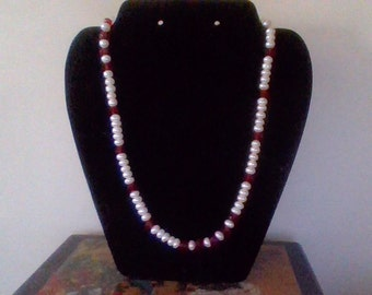 Lucious  genuine pearl Necklace