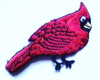 cardinal iron on patch