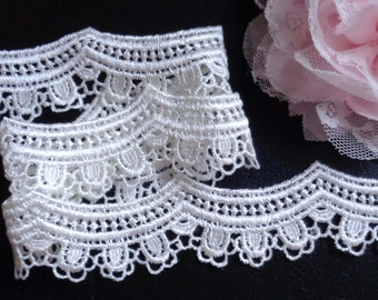 Ivory Lace 1 inch wide selling by the yard